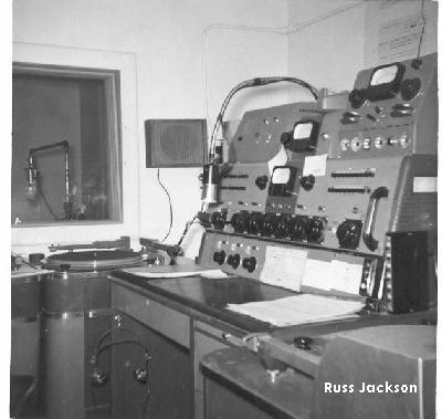 Old Radio Station Equipment